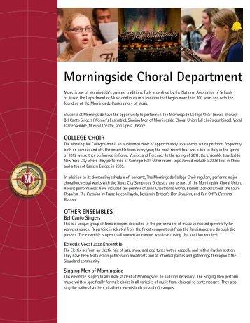 Choir - Morningside College