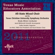All-State Mixed Choir - Naxos Music Library