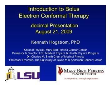 Bolus Design - decimal