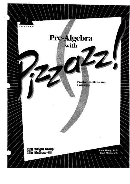 Pizzazz Pre-Algebra.pdf