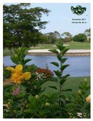 November 2011 Volume 26, No. 8 - Quail Ridge Country Club