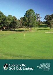 Cabramatta Golf Club Limited