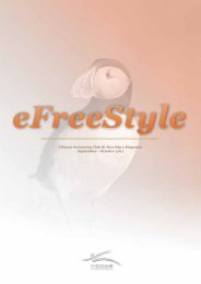 September – October 2011 EFreeStyle - Chinese Swimming Club