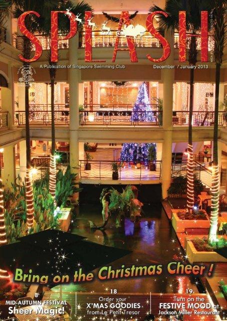 Splash (Dec/Jan 13) - Singapore Swimming Club