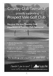 Prospect Vale Golf Club Inc.