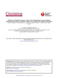 AHA Statistical Update - Circulation