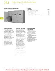 Metal-Enclosed Breaker—MEB - Klockner Moeller Parts