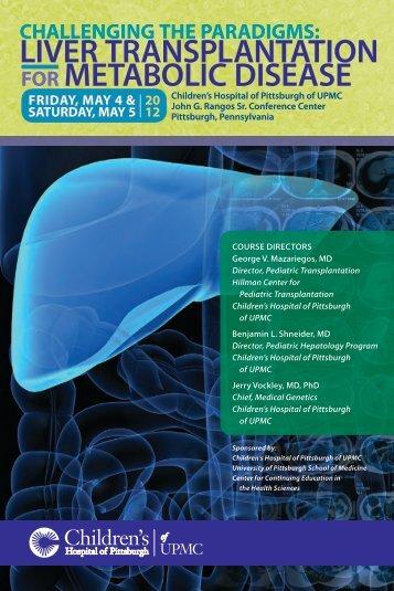 FOR METABOLIC DISEASE LIVER TRANSPLANTATION - Events