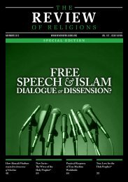 Download PDF - The Review of Religions