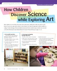 How Children Discover Science While Exploring Art - National ...