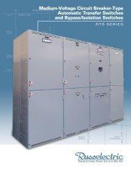 Medium-Voltage Circuit Breaker-Type Automatic ... - Russelectric