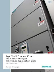 High voltage metal-clad switchgear type PF 107 with     - Schneider