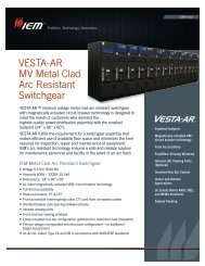 GE - SecoGear - SecoVac - Metal Clad Switchgear - Embedded