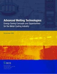 ITP Metal Casting: Advanced Melting Technologies: Energy Saving ...