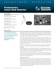 Protectowire Linear Heat Detector - System Sensor