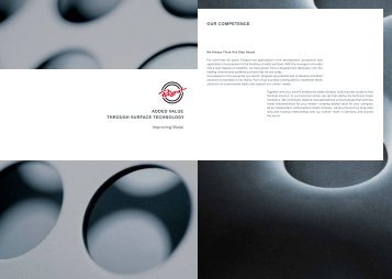 "Brochure ""Improving Metal"" (pdf) - POLIGRAT GmbH"