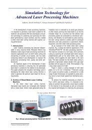 Simulation Technology for Advanced Laser - Mitsubishi Electric