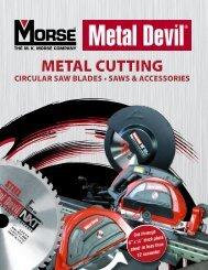 Metal Devil Metal Cutting Circular Saws and Blades - M. K. Morse