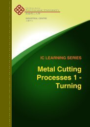 Metal Cutting Processes - Turning - Industrial Centre - The Hong ...