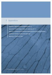 Appendices, glossary and index - Department of Sustainability ...