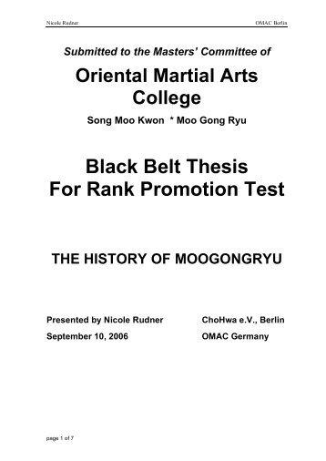 AAU Taekwondo > Rules/Info > Dan Certification