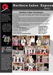 Download Northern Lakes Martial Arts Newsletter - Bodybeat ...