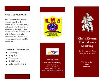 Kim's Korean Martial Arts Academy