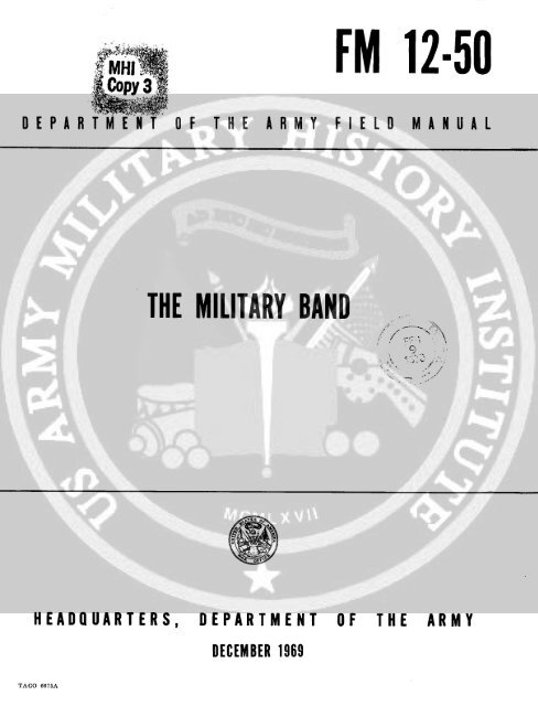 The Military Band - Regimental Drum Major Association