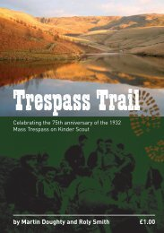 by Martin Doughty and Roly Smith £1.00 - Kinder Trespass