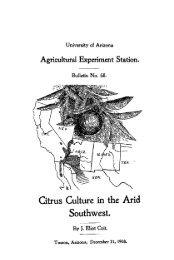 Citrus Culture in the Arid Southwest