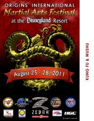 open PDF - 2012 Origins International Martial Arts Festival