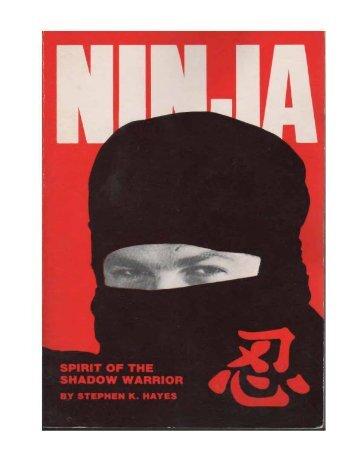 Ninja Vol 1 - Spirit of the Shadow Warrior