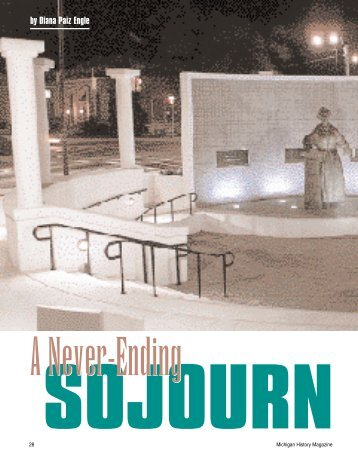 A Never-Ending Sojourn by Diana Paiz Engle - State of Michigan