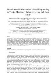 Model-based Collaborative Virtual Engineering in Textile Machinery ...
