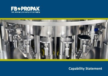 To download our capability statement please click here - FB*PROPAK