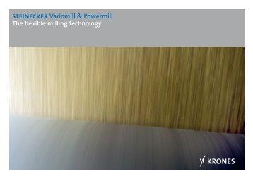 steinecker Variomill & Powermill The flexible milling ... - Krones AG