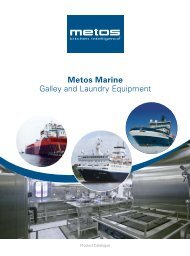 Metos Marine Galley and Laundry Equipment Metos Marine Galley ...