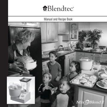 Manual and Recipe Book - Blendtec