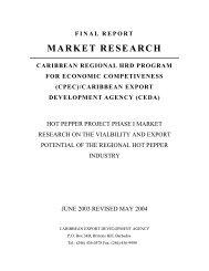 Final Document -HP.pdf - Caribbean Export Development Agency