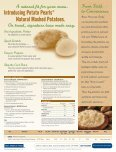 Natural Mashed Potatoes. Our label says it all. - Association for ... - Page 2