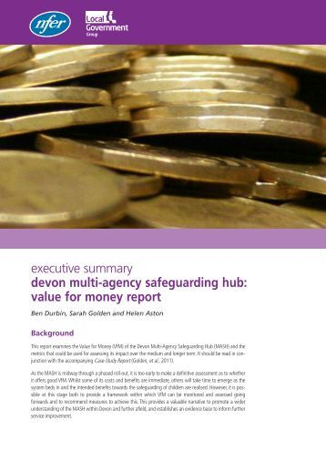 Executive Summary - National Foundation for Educational Research