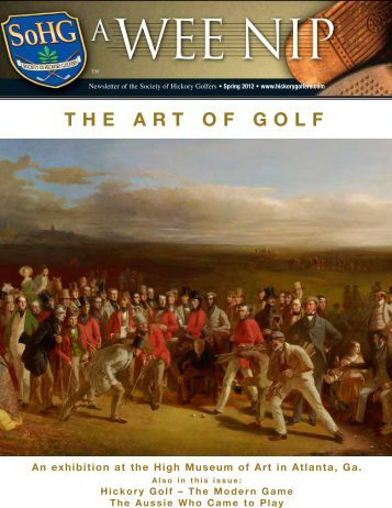 The ArT of Golf - Society of Hickory Golfers