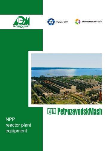 NPP reactor plant equipment