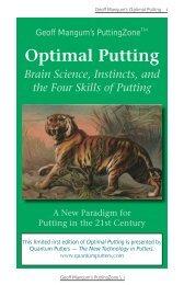 Download the Optimal Putting eBook Here - Geoff Mangum's ...
