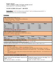 STUDY GUIDE CH 6 and 7 REVIEW Grammar