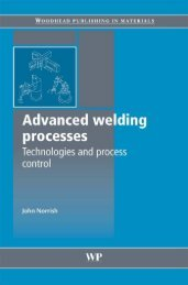 Advanced Welding Processes: Technologies and Process Control