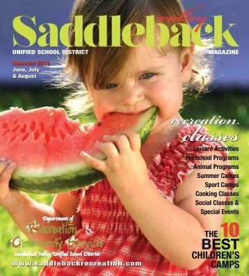 Leisure Activities - Saddleback Recreation