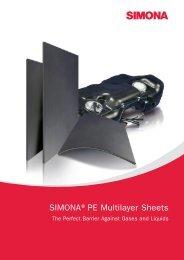 SIMONA®PE Multilayer Sheets - Simona AG