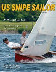 2010 Classic Snipe Rally Know Your Trophies Strategies for the ...