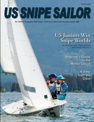 US Juniors Win Snipe Worlds - United States Snipe Sailing